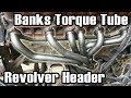 89 Cherokee Banks Revolver Header Install