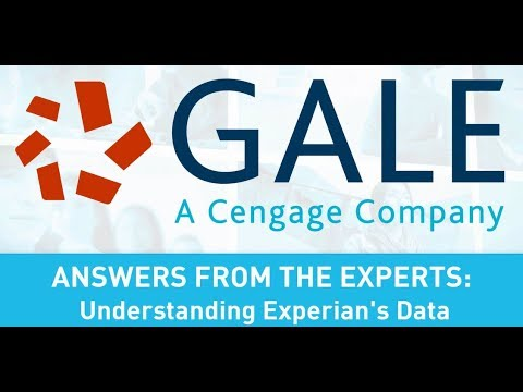 Answers from the Experts: Understanding Experian's data