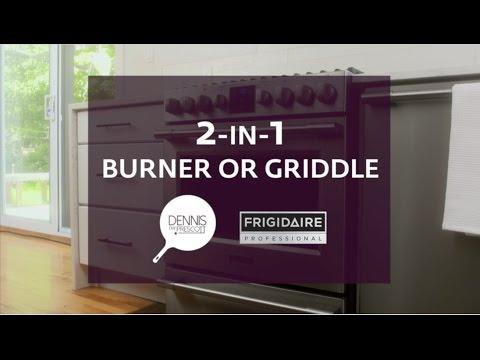 2-in-1 Burner or Griddle with Dennis the Prescott