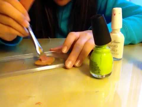 How to mix nail polish colors