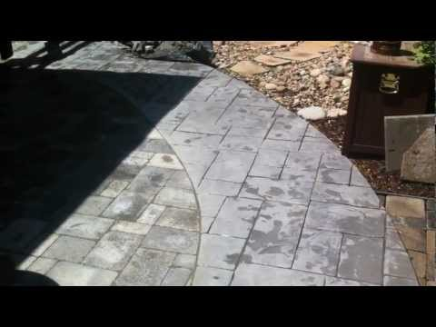 Installing pavers next to concrete Paver patio