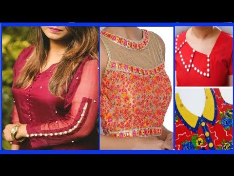 NEW NECK AND SLEEVES FASHION2018//LATEST DRESS DESIGN//NECK AND SLEEVE DESIGN IDEA