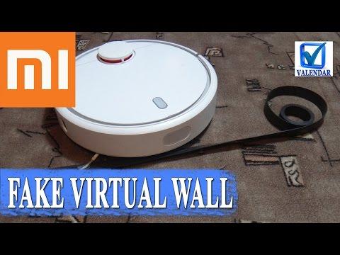 Xiaomi Mi Robot магнитная лента вместо виртуальной стены