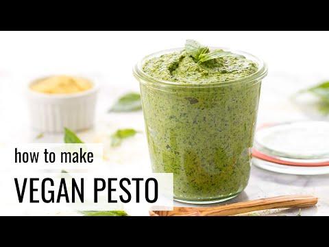 EVERYDAY VEGAN PESTO | quick + easy