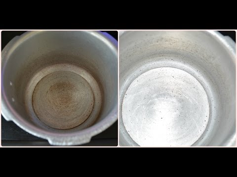 How to clean a stained pressure cooker