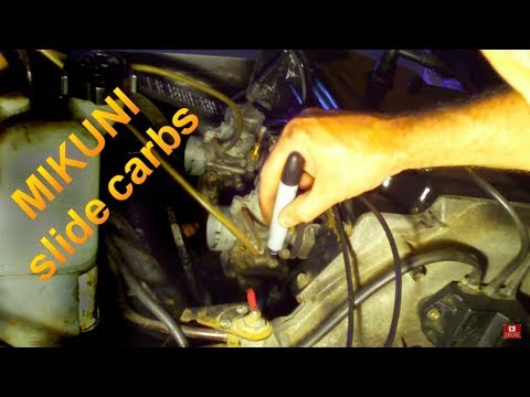 How To Adjust Snowmobile Carb Idle Screw Setup on Mikuni ✔