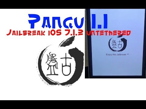 Jailbreak iOS 7.1.2 untethered Deutsch mit Pangu 1.1 - iPhone 5s / iPad Air / iPod 5 / alle Geräte!