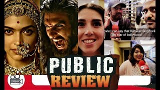 Padmavati / Padmavat UAE public review   Ranvier Singh   Shahid Kapoor