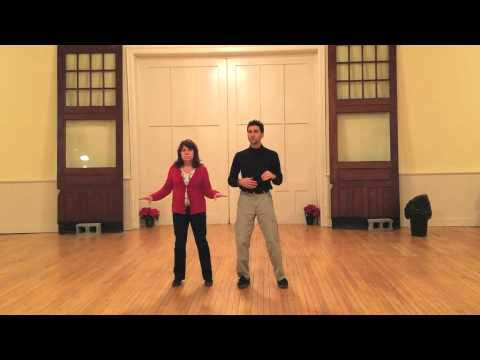 Swing dance lesson drills for Jive latin motion