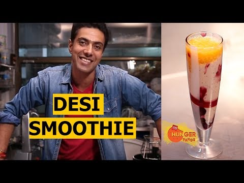 How To Make A Desi Smoothie | Blueberry + Orange Smoothie | Easy To Make Recipe | Chef Ranveer Brar