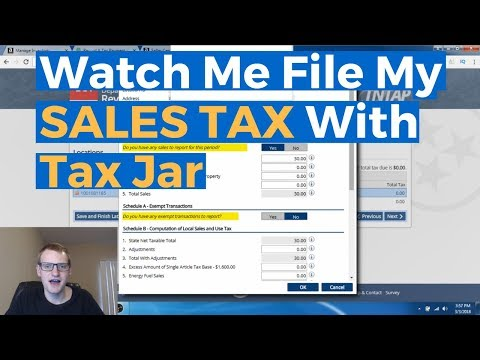Amazon FBA & Sales Tax: How To Manage And Pay Sales Tax With Tax Jar - Step By Step Tutorial