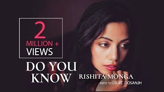 Rishita - Do you Know - Reply to Diljit Dosanjh Song