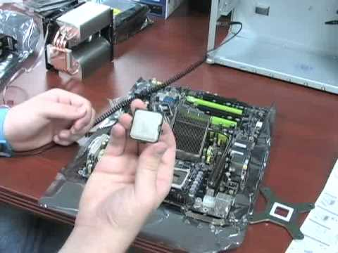 How to Install a CPU Computer Build Pt 2