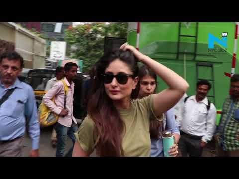 Kareena Kapoor, Shika Taslania  spotted  during 'Veere Di Wedding' promotion
