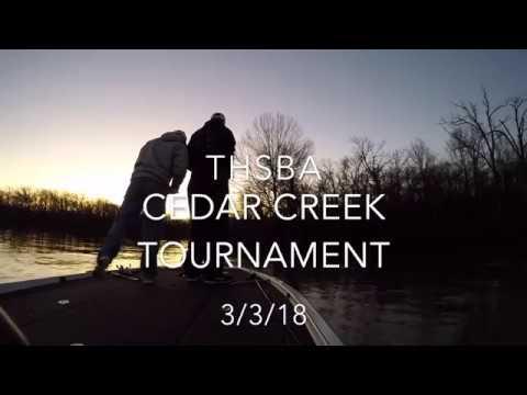 THSBA Cedar Creek Tournament (1st out of 160 boats)