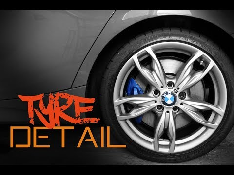 How to clean and dress your tyres - Car tyre cleaning guide