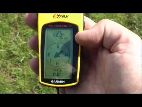 4. Creating and navigating to a waypoint using your handheld satnav (GPS)