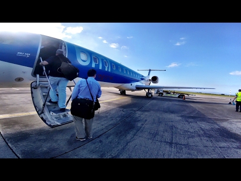 FIRST DAY! BMI Regional, City of Derry - London Stansted, Embraer 145