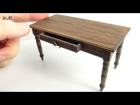 Miniature Antique Table DIY - Petit Palm
