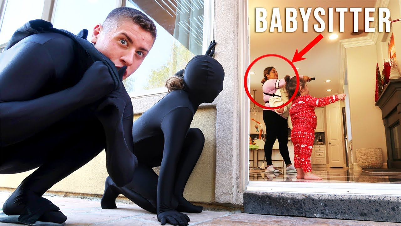 Putting our BABYSITTER to the ULTIMATE TEST!!! **HILARIOUS!!**