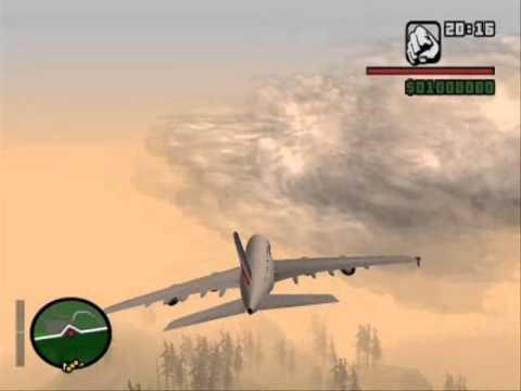 AIFRANCE A380 REAL SOUND GTA SAN ANDREAS
