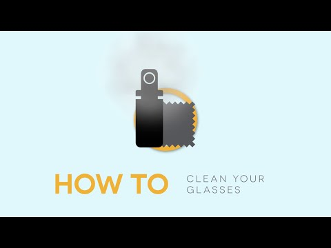 How To Clean Your Glasses?