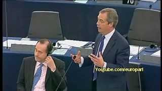 Nigel Farage: I hope taxpayers all over Europe listen to this...