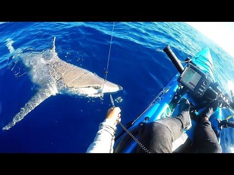 Key West Kayak Fishing - First Beast On The XX-Heavy Jigging Rod Plus Blackfin Tuna