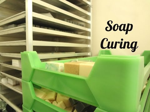 Soap Storage & Curing Products & Tips.