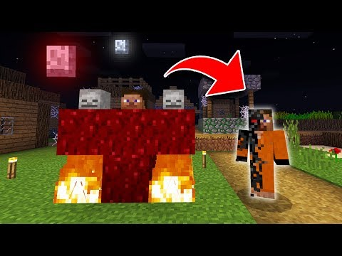 How to Spawn TEST SUBJECT CURSE in Minecraft! (SCARY Seed Survival EP3)