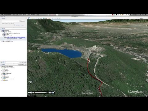 Introduction to Google Earth - Part 6 Creating and Recording Tours