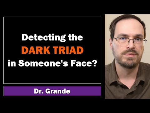 Spotting the Dark Triad Traits in Faces | Psychopathy, Narcissism, & Machiavellianism