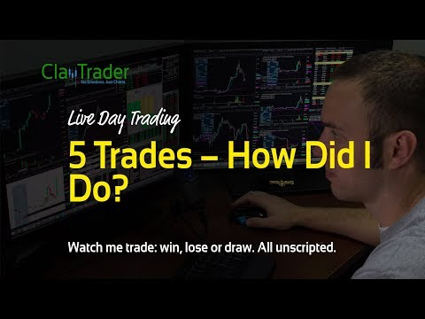 Live Day Trading: 5 Trades – How Did I Do?
