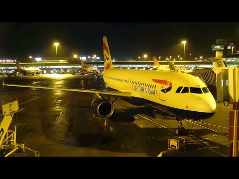 British Airways Airbus A320-232 Manchester to London Heathrow | Full Flight