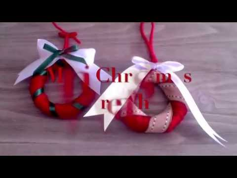 Homemade DIY Mini Christmas Wreaths | Room Service!...deco