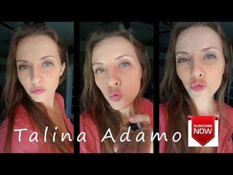 Talina Adamo - Girls who make a fish face, kiss face and pout lips