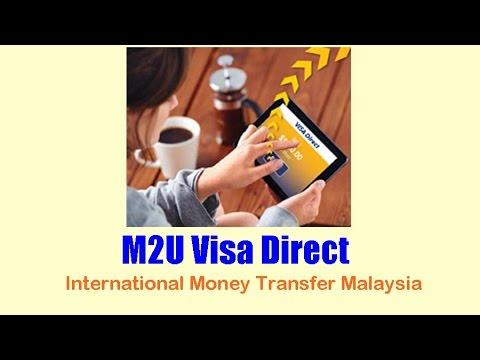 M2U Visa Direct: International Money Transfer Malaysia