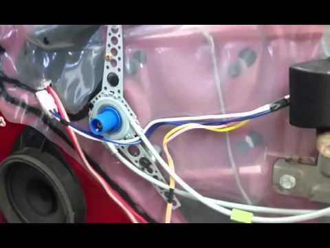 Installing power windows and door locks 08 Cobalt