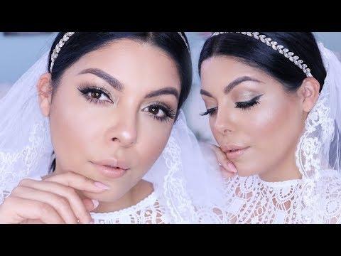 AFFORDABLE DRUGSTORE BRIDAL SOFT GLAM WEDDING MAKEUP LOOK + TUTORIAL | SCCASTANEDA