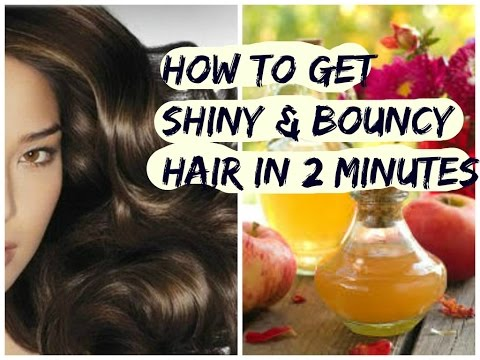Simple secret to get shiny & bouncy hair in 2minutes-DIY beauty-homeremedies