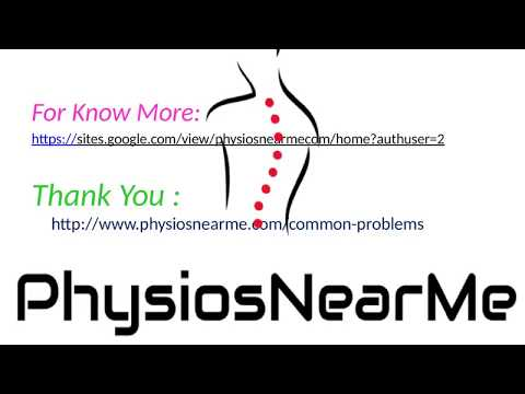 Top 3 Exercises for physiotherapy treatment for neck pain