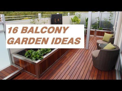 16 Balcony Garden Ideas