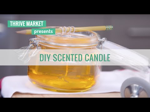 How To DIY A Scented Candle