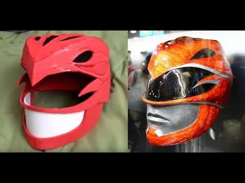 Power Rangers 2017 Helmet Build - Pt. 1 (Red Ranger)