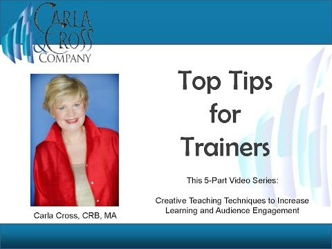 Top Tips for Trainers: How to Create the Most Effective Workshop