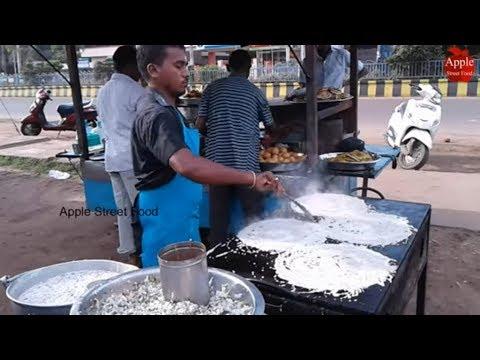 Instant Rava dosa || Crispy Sooji dosa or Semolina Dosa   || Apple Street Food