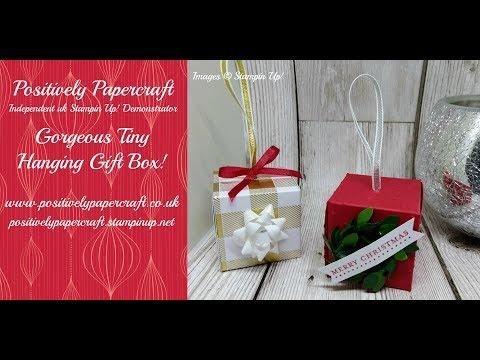 Tiny Tree Gift Box!