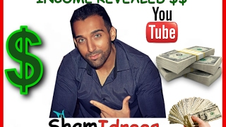 How Much SHAM IDREES Earn From Youtube || Income Revealed