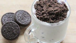 Oreo Blizzard Recipe How To Make Oreo Blizzard Oreo Milkshake Kids Re