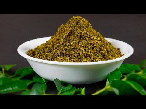 Curry Leaves Powder (Spicy)